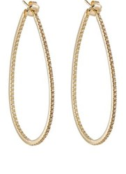Sidney Garber Women's Perfect Oval Hoops Gold