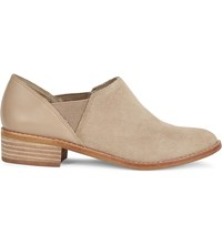 Aldo Aucoin Leather And Suede Ankle Boots Beige