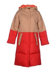Tsumori Chisato Coats And Jackets Down Jackets Women Camel