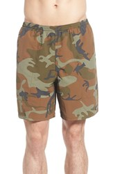 Patagonia Men's 'Baggies' Swim Trunks Forest Camo Hickory