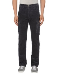 Met Casual Pants Dark Blue