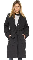 Pure Dkny Puffer Jacket Black