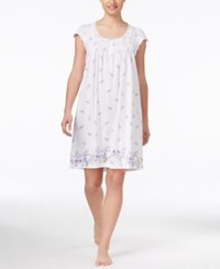 Charter Club Floral Border Print Nightgown Only At Macy's Cascading Floral