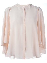 Roberto Capucci Round Collar Shirt Pink And Purple