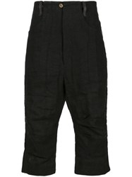 A Diciannoveventitre Cropped Trousers Black