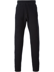Lanvin Stitching Detail Track Trousers Blue