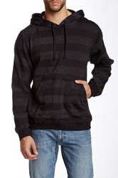 Burnside Striped Pullover Hoodie Gray