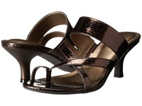 Lifestride Frolic Bronze Sparkler Women's Dress Sandals Brown