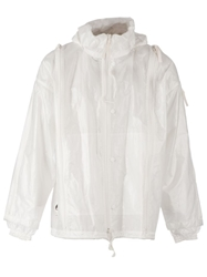 Final Home Oversize Zip Through Jacket White