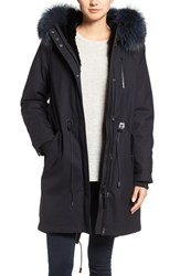 Mackage Women's Parka With Genuine Fur Lining And Trim