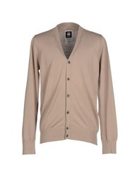 Raw Correct Line By G Star Knitwear Cardigans Men Beige