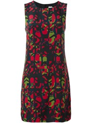 M Missoni Abstract Print Dress Multicolour