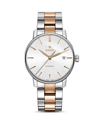 Rado Coupole Classic Automatic Stainless Steel And Rose Gold Ceramos Watch 38Mm