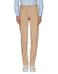 Daniele Alessandrini Trousers Casual Trousers Men Camel