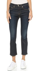 Rag And Bone 10 Inch Crop Straight Jeans Kensington