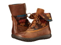 Born Archer Brown Sugar Russet Wool Combo Women's Shoes
