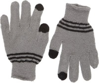 Wooden Ships Hathaway Knit Texting Gloves Grey
