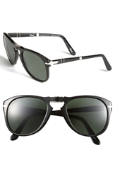 Persol '714' Folding Polarized 54Mm Keyhole Sunglasses Black Polarized