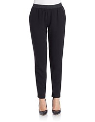 Sanctuary Stretch Track Pants Black