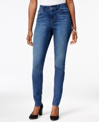 Styleandco. Style Co. Petite Performance Central Wash Skinny Jeans Only At Macy's Linden