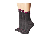 Ariat Light Hiker Crew Socks Gray Women's Crew Cut Socks Shoes