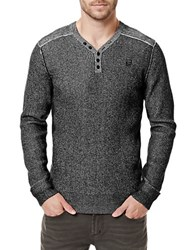 Buffalo David Bitton Warenty Henley Sweater Cannon
