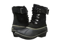 Sorel Winter Fancy Lace Ii Black Silver Sage Women's Boots