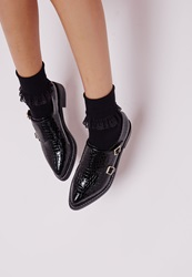 Missguided Ankle Socks Lace Trim Black Black