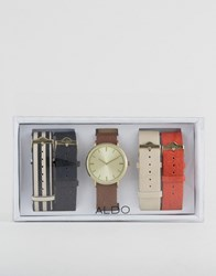 Aldo Charnas Multi Strap Watch Multi