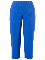 Chesca Stretch Capri Trousers Cobalt
