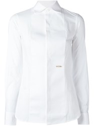Dsquared2 Bib Dress Shirt White