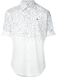 Vivienne Westwood Graphic Print Cut Out Shirt White