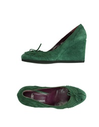 Yosh Collection Pumps Emerald Green