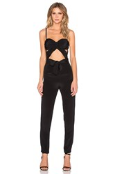 Misha Collection Celia Pantsuit Black