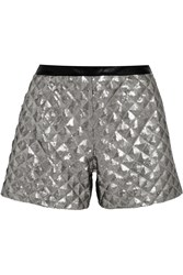 Karl Lagerfeld Rena Sequined Jersey Shorts