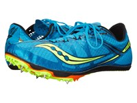 Saucony Ballista Blue Citron Men's Running Shoes Green