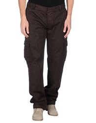 Kejo Trousers Casual Trousers Men Dark Brown
