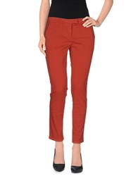 Douuod Trousers Casual Trousers Women Rust