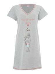 Therapy Sundae Ice Cream Sleep Tee Grey