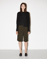 Jil Sander Tancredi Trouser Shorts Dark Green