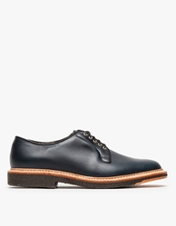 Alden Dooley Plain Toe Blucher Navy