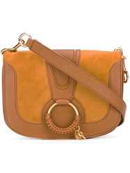 See By Chloe Removable Strap Crossbody Bag Brown