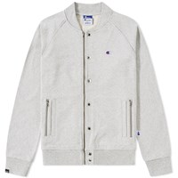 Champion X Beams Bomber Jacket Grey