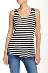 Olivia Moon Zipper Back Tank Black