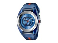 Gucci Sync Xxl Ya137104 Blue Steel Watches