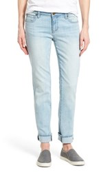 Women's Kut From The Kloth 'Catherine' Stretch Slim Boyfriend Jeans Artistic