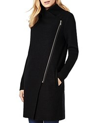 Phase Eight Byanca Zip Front Coat Black