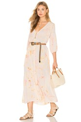 Cleobella Lyric Dress Beige