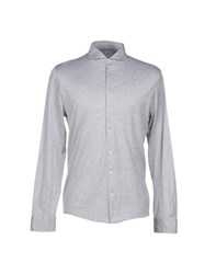 Gran Sasso Shirts Shirts Men Light Grey