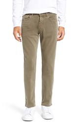 Paige Men's Federal Slim Straight Leg Jeans Olive Green